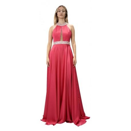 DK FRANGULIS 192160 φόρεμα ροζ