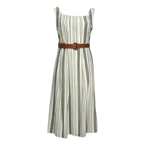 190300 φόρεμα χακί