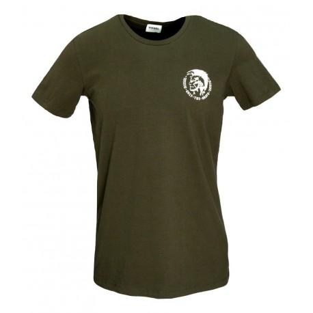Diesel UMTEE-RANDAL 00SJ5L-OTANL-E2967 t-shirt χακί