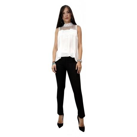 Lynne 142-510048 μπλούζα ζαχαρί
