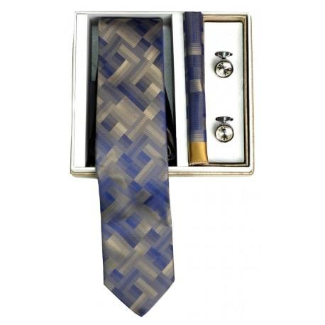Me and my 020-19/09 γραβάτα-μαντήλι-μανικετόκουμπα