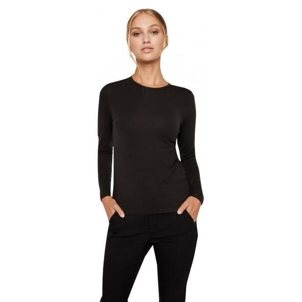 Vero moda 10217555 black Μπλούζα