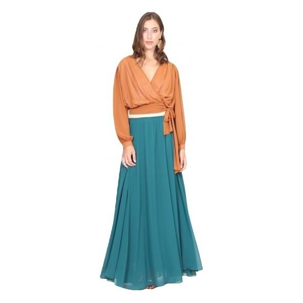 Luielei 220127 φούστα πράσινη