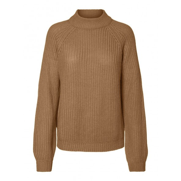 Vero moda 10220664 Tobacco brown Πλεκτό