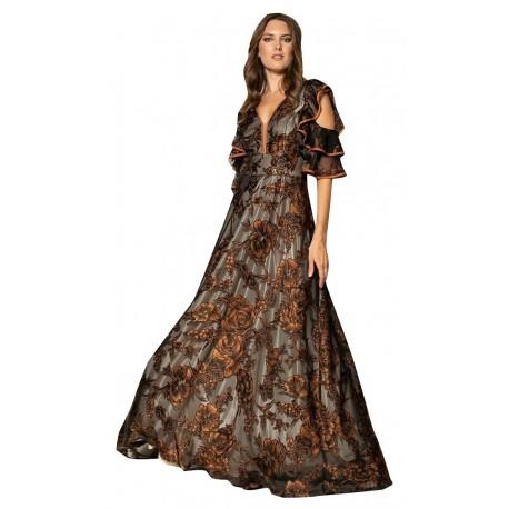 Queen fashion 191031 Φόρεμα