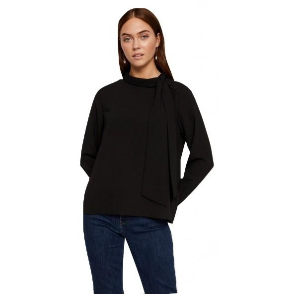 Vero moda 10220802 Black Μπλούζα