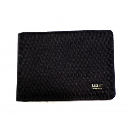 Basehit 999.BU02.06 πορτοφόλι μαύρο