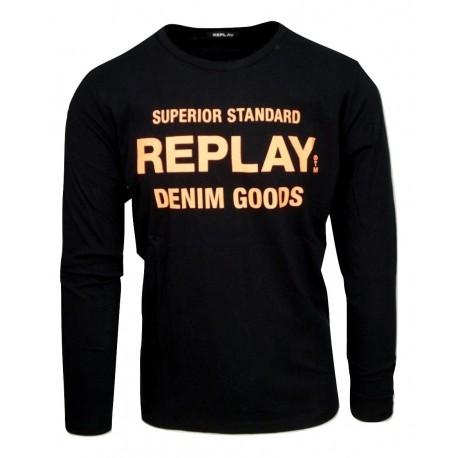 Replay M3964.000.2660.098 μπλούζα
