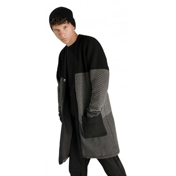 P/COC R094402604 Black/Gray Ζακέτα
