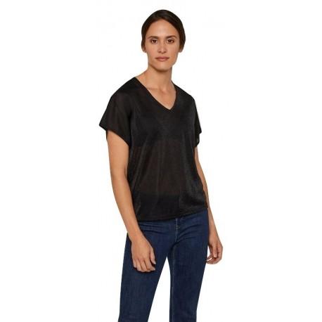 Vero moda 10221623 BLACK Μπλούζα