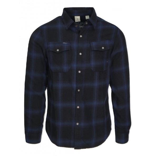 SCINN MATIAS 02 219.26.SS12A Blue πουκάμισο