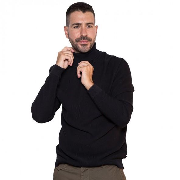Smart & Co 42-206-007 μαύρο πουλόβερ