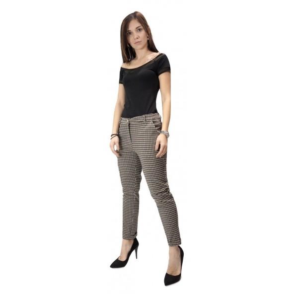 Lynne 142-512011 Παντελόνι Καρό