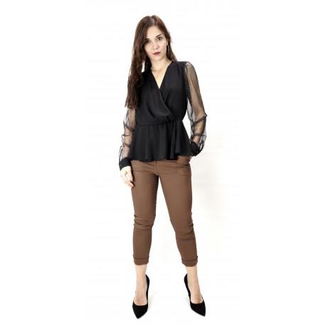 Lynne 042-510042 Μπλούζα μαύρη