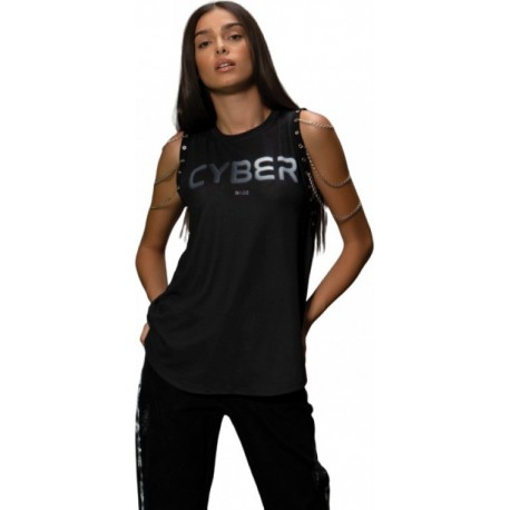 Peace & Chaos Cyber Babe W19212 Top