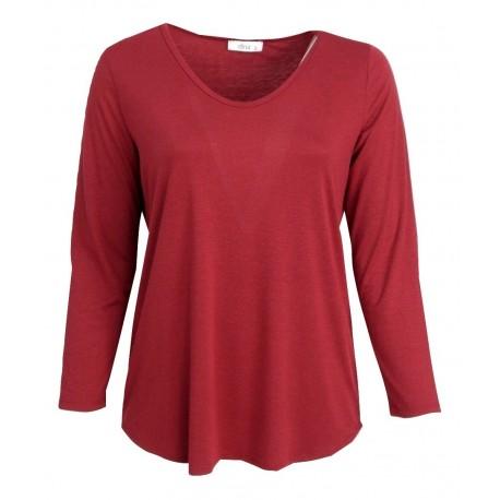 Dina 18039392 Κόκκινη μπλούζα