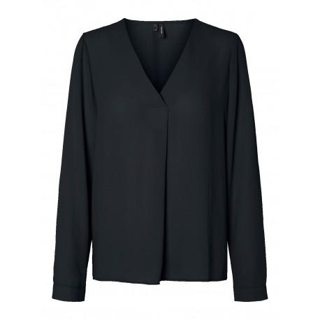 Vero moda 10230966 Μπλούζα μαύρη
