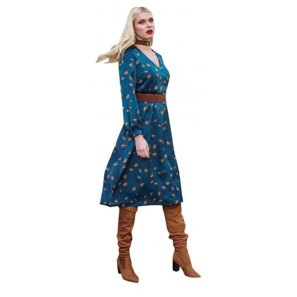 Derpouli  1.20.85613 Φορεμα Πετρολ