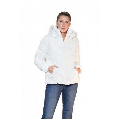 Splendid 42-101-020 μπουφάν κοντό off white