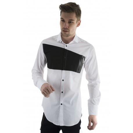 Stefan 9035 πουκάμισο άσπρο