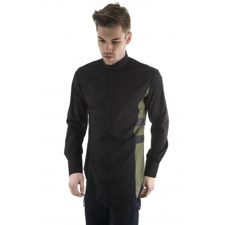 Stefan 9039 πουκάμισο black