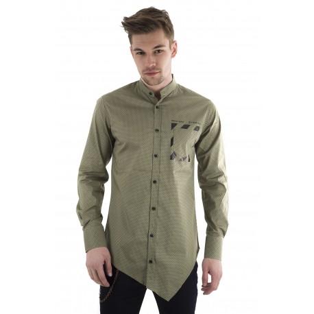 Stefan 9054 πουκάμισο χακί