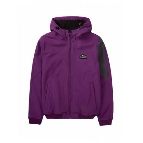 Basehit 192.BW11.61 Jacket Violet/Grey