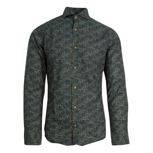 Stefan 9009 πουκάμισο πετρόλ