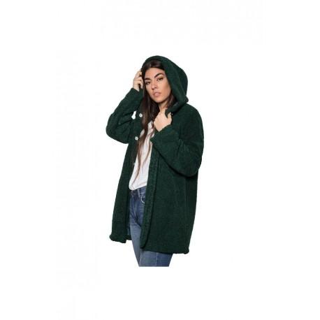 Biston 42-101-025 παλτό dark green