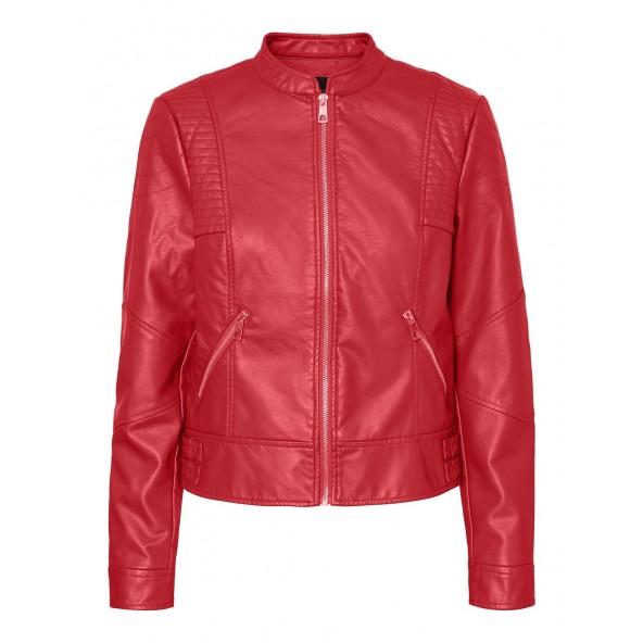 Vero moda 10222527 Δερματίνη κόκκινη