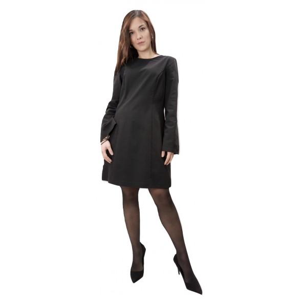 Moutaki 19-07-131 Φόρεμα μαύρο