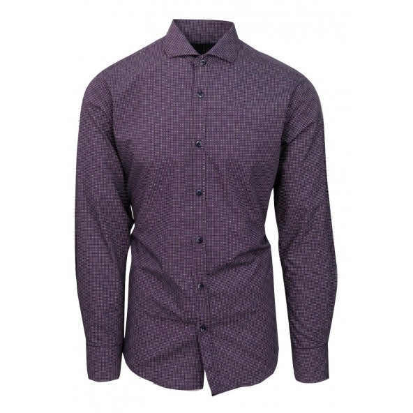 Stefan 9003 πουκάμισο μώβ