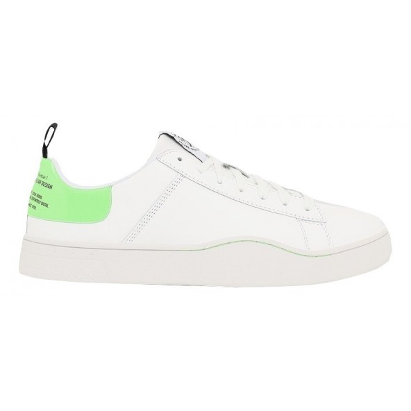 Diesel S-CLEVER Y02045 P3145 H1142 WHITE/GREEN FLUO