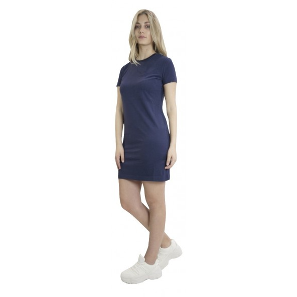 Superdry W8010138A OL T-shirt dress Blue Navy
