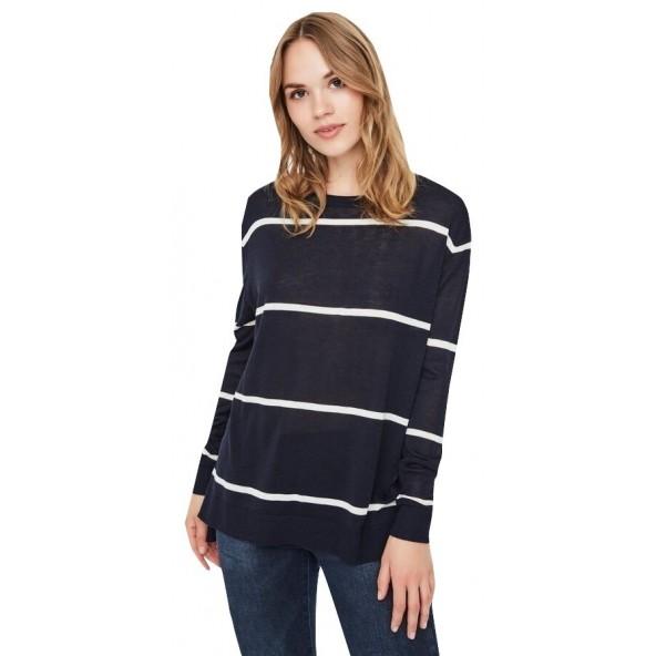 Vero moda 10223706 Μπλούζα μπλε