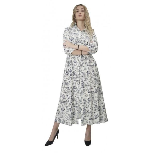 Moutaki 20.07.69 Φόρεμα λευκό