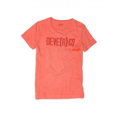 DEVERGO 1D014044SS3806 T-SHIRT ΠΟΡΤΟΚΑΛΙ