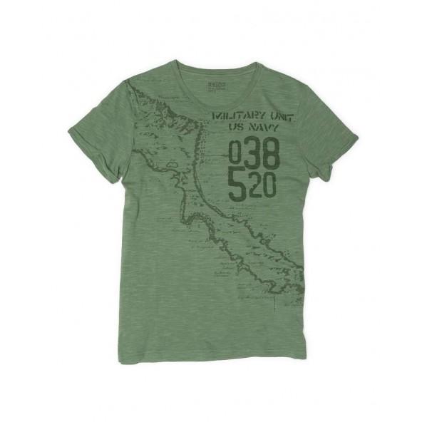 DEVERGO 1D014026SS3806 T-SHIRT πρασινο