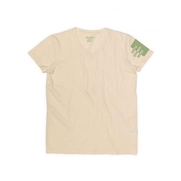 DEVERGO 1D014050SS0106 t-shirt μπεζ