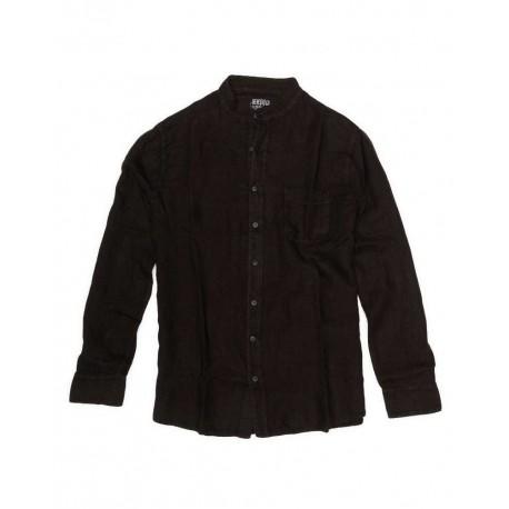 DEVERGO 1D015022LS1306 πουκαμισο μαυρο