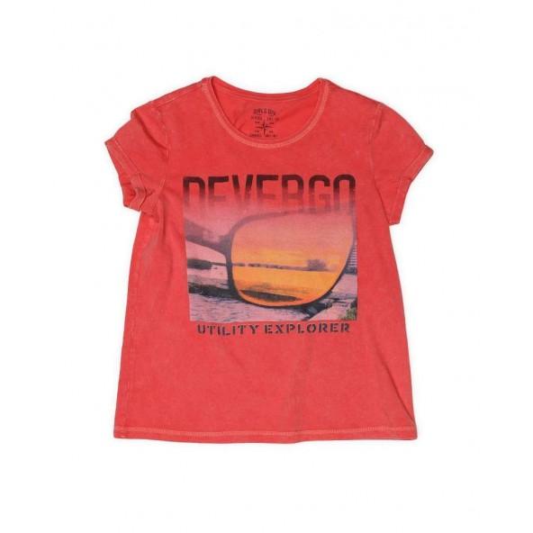 DEVERGO 2D014553SS0124 T-SHIRT PINK