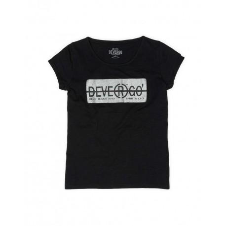 DEVERGO 2D014552SS3801 T-SHIRT BLACK
