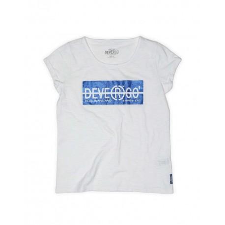 DEVERGO 2D014552SS3801 T-SHIRT WHITE