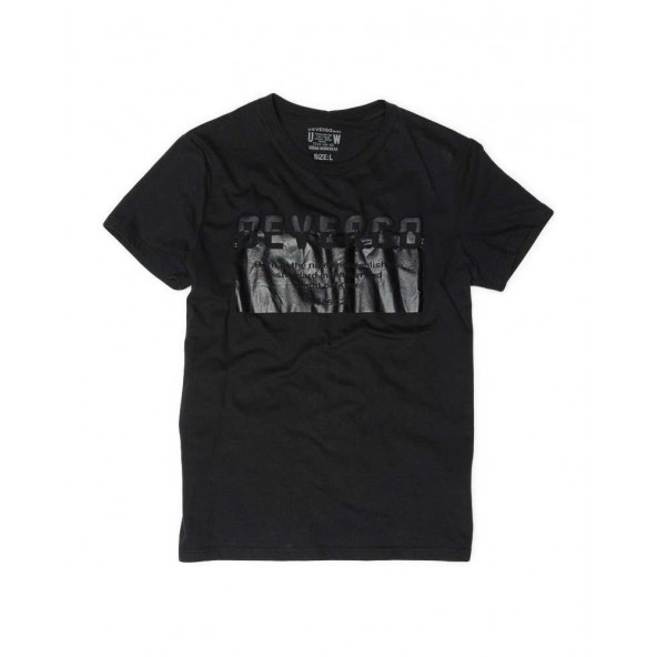 DEVERGO 1D014033SS0105 T-SHIRT BLACK
