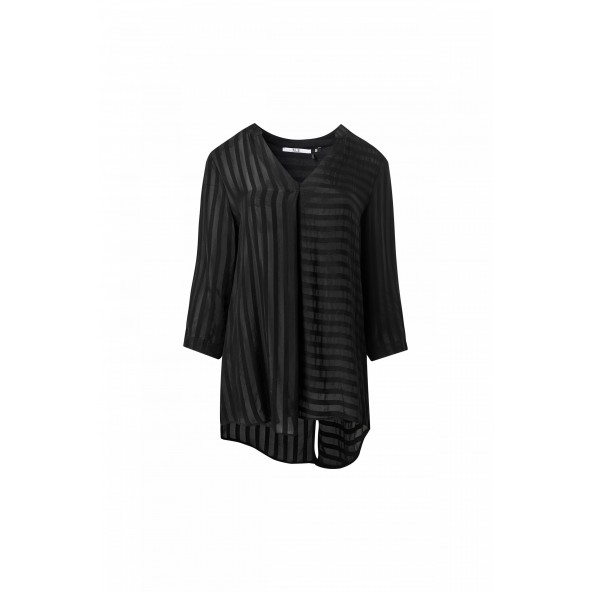 ALE 81122101 μπλούζα μαύρη