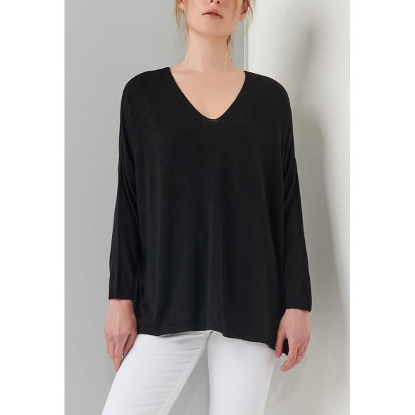 ALE 8P18476 μπλούζα μαύρο
