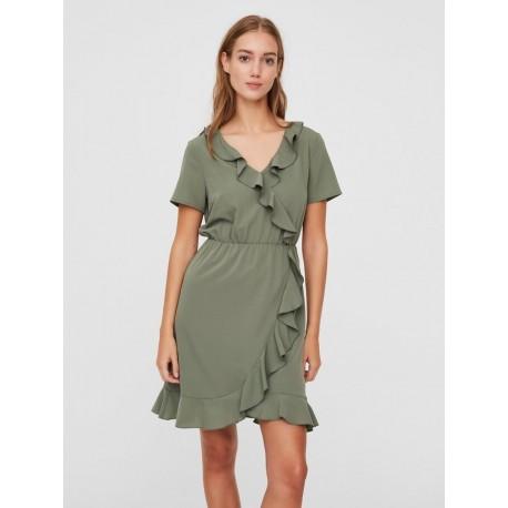Vero moda 10230337 φορεμα χακί