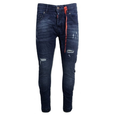 SENIOR 273 blue JEAN παντελόνι.