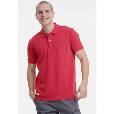 Funky buddha FBM00100111 Μπλούζα Κόκκινη