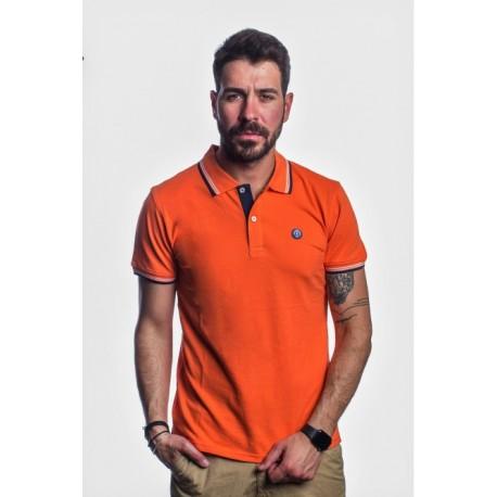 Splendid 41-206-020 JUSTIN orange polo